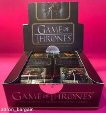 5 Game of Thrones The Complete Series 2020 Rittenhouse Pack Lot GoT Auto/Sketch?