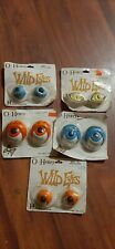 lot of 5 vintage o. henry eye macrame bead packages wild eyes etc.free shipping