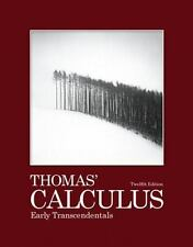Thomas Calculus 12th Edition: Thomas' Calculus : Early Transcendentals by...