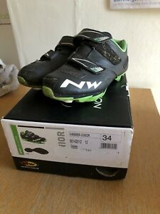 Northwave Hammer Junior Cycling Shoes Size 34 Uk2 22cm