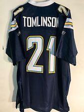 Reebok Premier NFL Jersey San Diego Chargers Ladainian Tomlinson Navy sz 2X