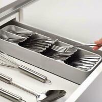 Joseph Joseph Drawer Store Compact Cutlery Organiser Kitchen Utensil GREY