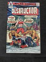 The DESTRUCTOR #3, Steve Ditko art, Atlas Comics 1975