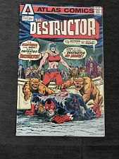 The DESTRUCTOR #3, Steve Ditko art, Atlas Comics 1975