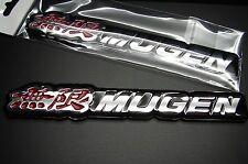 """3D MUGEN EMBLEM BADGE DECAL STICKER FOR HONDA ACURA US SELLER    6 1/4"""""""
