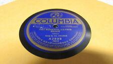AL JOLSON COLUMBIA 78 RPM RECORD 2898 THAT WONDERFUL KID FROM MADRID