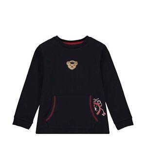 STEIFF  Sweatshirt Marine mit Teddy Ahoi blau  Gr. 92  NEU