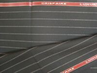 "4.47 yd HOLLAND SHERRY WOOL FABRIC Crispaire Super Fine 10 oz SUITING 161"" BTP"