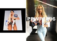 WWE CARMELLA MS MITB HAND SIGNED AUTOGRAPHED 8X10 PHOTO WITH PIC PROOF & COA 19