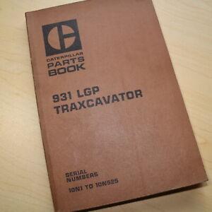 CAT Caterpillar 931 Track Loader Parts Manual Book Catalog spare crawler LGP 10N