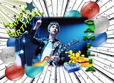 DL size Noel Gallagher/'s Epiphone Sheraton Union Jack Guitar Greeting Card