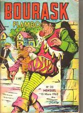 BOURASK AVEC FLAMBO N°33 DE MARS 1962