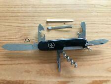 Victorinox Spartan Swiss Army Knife Black Multi-Tool - PTT TELECOM logo