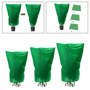 Winter Plant Cover Drawstring Tree Cover Warm Frost Protect Bag Anti-Freeze