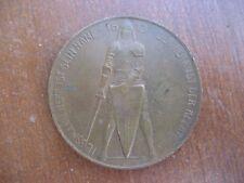 1. WK Völkerschlacht Leipzig 1913 Bronze Medaille Patriotika TOPERHALTUNG !!!