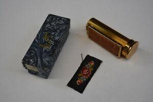 ancien étui à rouge à lèvre vintage LCS PARIS