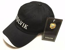 GENUINE VOLVIK BASEBALL CAP BLACK NEW WITH TAGS
