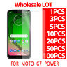 9H 0.3mm Tempered Glass Screen Protector Film For Motorola Moto G7 POWER LOT
