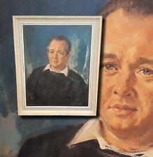 GISBERT PALMIÉ (*1897) Herrenportrait. Orig. Ölgemälde mit 1A Provenienz  PALMIE