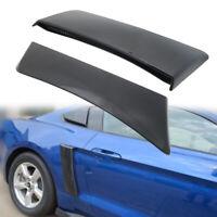 Roush 2015-2019 Mustang Quarter Panel Side Scoops Black Pair LH & RH
