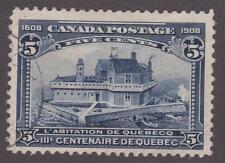 Canada 1908 #99 - Quebec Tercentenary Issue - Used Fine