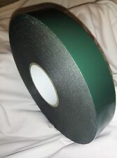 2x DOUBLE SIDED AUTOMOTIVE FOAM TAPE ROLL MOUNTING NUMBER PLATE 35x1MMx30M