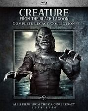 CREATURE FROM THE BLACK LAGOON COMPLETE LEGACY COLLECTION New Blu-ray 3 Films