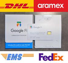 Google Fi SIM Card Kit ($30 credit)