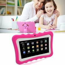 """7"""" 7inch Tablet PC for Kids Education Gift Android 4.4 Quad Core 8GB Dual Camera"""
