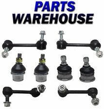 8 Pcs Kit Front & Rear Sway Bar Link Lower & Upper Ball Joint Trailblazer Envoy
