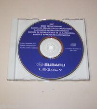 Werkstatthandbuch auf CD Subaru Legacy Karosserie Reparaturhandbuch - Stand 2007