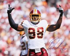 BRIAN ORAKPO SIGNED 16x20 PHOTO TENNESSEE TITANS WASHINGTON REDSKINS w/ JSA COA