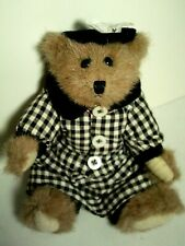 Boyds Bears Bailey Spring.1994 in Black & White Checks ~ New w/Tags Rare