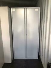 More details for 200cm metal 2door office storage unit filling cabinet 4 shelves cupboard glasgow
