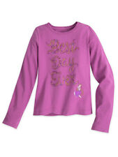 "Disney Store Girls Rapunzel - Tangled - ""Best Day Ever"" Long Sleeve Shirt"
