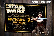 Star Wars Ray Party invitation (You Print)