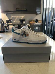 Nike Air Force 1 Space Jam Hare 07 GS UK5.5 Brand New Free Delivery
