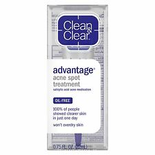 1 X Clean & Clear Advantage Acne Spot Treatment 0.75 Fl. OZ.