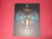 2017 UEFA CHAMPIONS LEAGUE FINAL JUVENTUS V REAL MADRID + POSTER