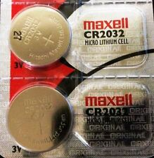 2 Maxell Cr2032 Replacement Batteries Compatible{*} w Snark guitar tuner