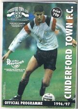 Cinderford Town v Cirencester Town 1996/7