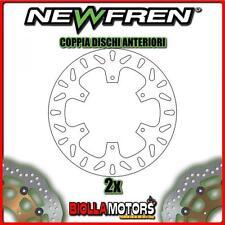 2-DF5256A COPPIA DISCHI FRENO ANTERIORE NEWFREN YAMAHA XTZ 750cc SUPER TENERE 19