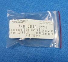Laserscope 0010-0771, Calibrado Inserto, Endostat, sin Esterilizar, Autoclavabe