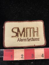 Vintage SMITH ALARM SYSTEMS Advertising Patch 017