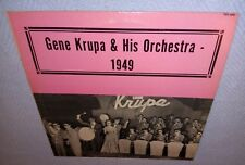 Gene Krupa And His Orchestra, 1949 VINYL LP (NM) cover VG+