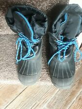 A PAIR OF WOMENS WINTER BOOTS SIZE UK 5