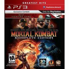 Mortal Kombat: Komplete Edition-Sony PlayStation 3 [PlayStation Hits] NUEVO