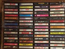 64 Soul Funk Cassette Tape Collection Lot Michael Jackson TLC Roger Levert Tony!