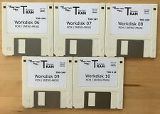 Korg T1 T2 T3 TSeries Workdisk disk Media Replacements (10 Disks) MTECHGUY