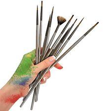 Detail Paint Brush (Set of 16) - Artistrove Miniature Art Brushes for Fine De...